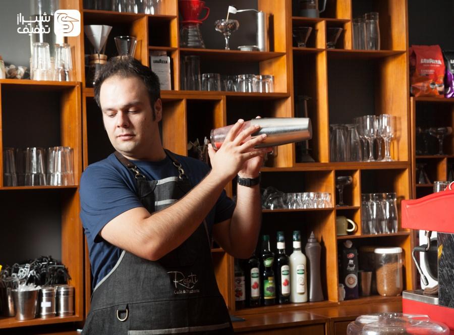 کافه رستوران ایتالیایی رزاتی - بلوار نیایش